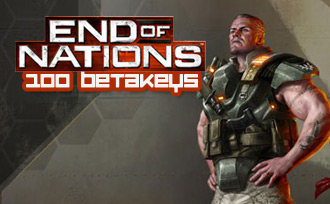 End of Nations: 100-Use Betakey Code